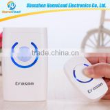 Easy installation fashion simple design custom waterproof doorbell switch