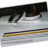 flexible magnetic strip with pvc, with adhesive, magnetic strip roll