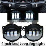 "High Quality 4 inch 30w led fog light Bulb 4"" Jee-p Wrangle-r LED Headlight for jee-p wrangle-r JK DODGE MAGNUM"