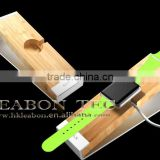 bamboo aluminum 2015 most popular hot New Products For Apple Watch Wooden Holder Stand Charging Dock
