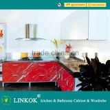 Affordable modern mini acrylic kitchen cabinet