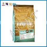 custom printed plastic dog treat packaging zipper bag/Stand up pet food zipper bag                                                                         Quality Choice