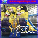 Inflatable minion bouncer, inflatable bouncy castle for children, inflatable jumping bouncer