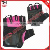 Women's Gym Fitness Gloves, Ladies Pink Gloves, Custom Designs