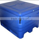 large plastic tubs,Plastic fish tub by rotational molding, large cooler for food storage and transportation
