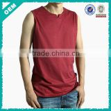 Small V-neck T Shirt Fashion Tank Top Mens (lyt-060088)