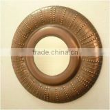 Round Mirror Frame,classic mirror frame ,fancy mirror frames,Hammered Mirror Frame,Bronze Mirror Frame