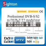 2 channel dvb-t/t2 digital satellite rf modulator dvb-s to dvb-t converter                                                                                                         Supplier's Choice