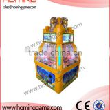 Pharaoh's Treasure coin pusher game machine/arcade win token machine/Good profits game equipment