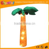 2016 led lighted Inflatable coconut tree, inflatable coconut palm tree