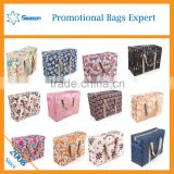 Big size non woven pp zipper travel Luggage tote bag for clothes