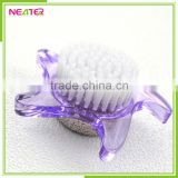 plastic star shape small brush with pumice stone foot brush