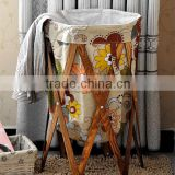 Manufacturers wholesale export folded laundry basket Cloth art receive a basket receive receive basket zakka Laundry basket