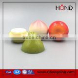 any fruit apple shape cute promotion pp plastic jar for sleeping spray,pp skin cream container,pp cosmetic jar