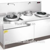 JINZAO CZT1-22-4024 Induction Cooker/Electromagnetic starch furnace(double heads and tails)Electromagnetic oven kitchenequipment