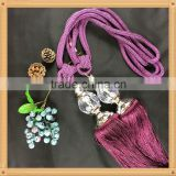 Elegant curtain tie back tassel for decorative