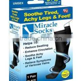 Miracle Socks Soothe Tired Achy Legs and Feet