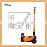 60 ton air pump for hydraulic jack