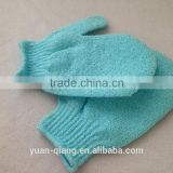 newest skin care exfoliating non- stimulating body cleaning body bath glove