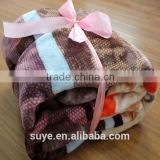 China Alibaba Suzhou factory Polyester burn out flannel Fleece Fabric for Baby Blankets /adult blanket
