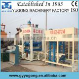popular in India hydraulic pressure automatic block machine,block making machinery