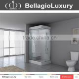 New Shower cabine, glass steam shower room , double shower enclosure