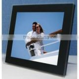 High-quality Metal Decoration photo frame for cars with Metal Logo Sticker for photo album