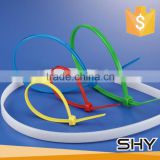 china factory flexible thin nylon soft cable ties
