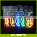 Classic led shoelace of neon flash shoe lace colorful luminous light up led shoelaces
