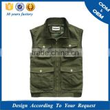 Godspeed sleeveless padded body warmers vest , camera garment / godspeed jacket / photographer jacket ,life jacket
