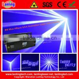 High Power 8W Blue disco event stage laser show system