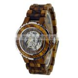 hot sell wooden wholesale automatic wrist watch