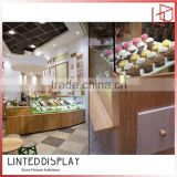 Glass cake display cabinet showcases for cake shop