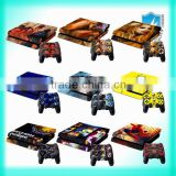 Wholesale Console Plate Sticker for play station 4 console
