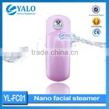 2015 Hot sales Skin care Beauty products Deep Moisturizing and Lightening Handheld Nano facial spray steamer