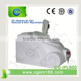 CG-IPL600 new technology e-light laser skin photo rejuvenation for Hair removal and Skin rejuvenation
