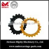 high quality bulldozer and excavator undercarriage parts EC290/wheel sprocket for CAT KO series