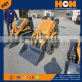 NEWLAND Brand W720 Hot diesel Mini Skid Steer Loader HY380 with CE approved multi function