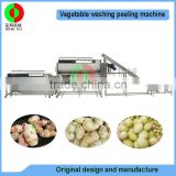 High quality easy clean french fries production line,automatic potato chips production line, multi-function potato peeler