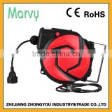 new product electric cable reel retractable with 10+1m electric cord reel