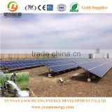 Off grid 20KW solar power generator system for solar air conditioner & agriculture solar water pump