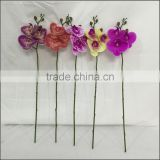 Beautiful artificial flower artificial orchid flower for residential and commercial decoration