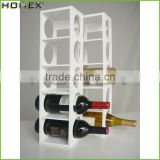 Bamboo bottle display stand/ wine display rack Homex-BSCI