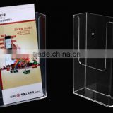 High Quality Custom A4 Clear Plastic Document Holder/Wall Mount Document Holder