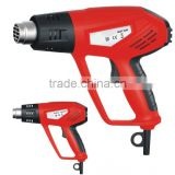 Double Handle 2000w Power Hot Air Gun Plastic Welding Shrinking Tools Mini Electric Heating Gun