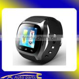 Appearance Vogue waterproof smart watch with 3.7V, 150mAh Lithium-ion polymer battery