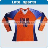 highly Customizable women sublimation long sleeves volleyball jersey tight fit