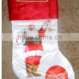 coke christmas sock