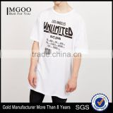 High Quality Wholesale Cotton White Streetwear Mens American Apparel Tshirt OEM Modern Screen Printing Tees