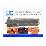 Automatic 3D pellet Potato Chips Making Machine / Extruded Snacks Machinery